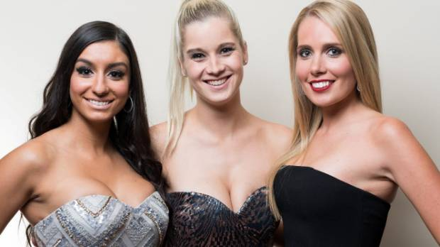 Season two's Bachelorettes were dressed by Glamour Boutique.