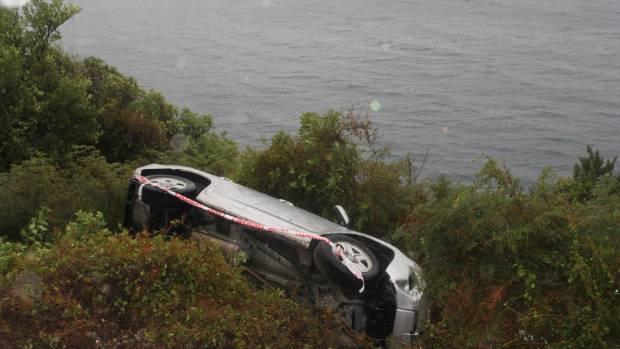 Car Crash In Queenstown