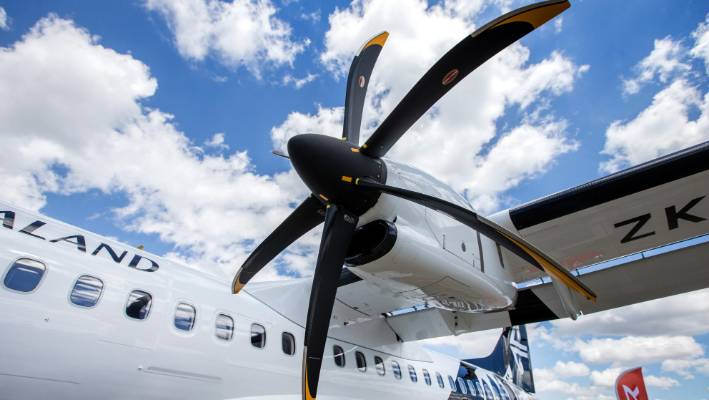 Turbo props: slower, noisier, more cramped  Does Air NZ think