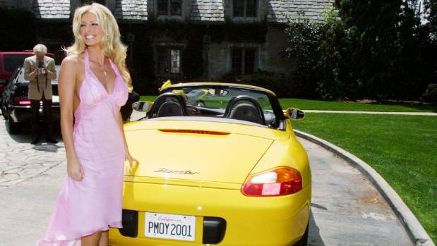 The Playmate of the Year may have won a car as her reward, but she had to give it back.