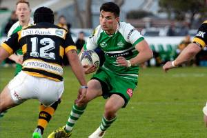 Manawatu's Otere Black gets the nod at first five-eighth for the Hurricanes. Photo: WARWICK SMITH/FAIRFAX NZ.