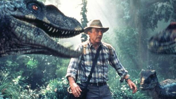 Sam Neill faced many threats in Jurassic Park - from dinosaurs to Jeff Goldblum's bare chest. And he did it all with ...