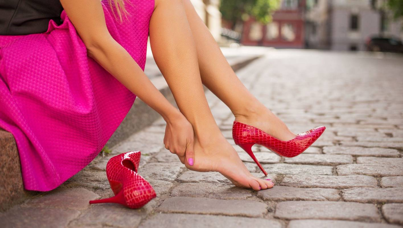 It should be a crime to force women to wear high heels