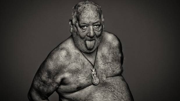 'Pukana', a portrait from Ilan Wittenberg's latest exhibition, Bare Truth.