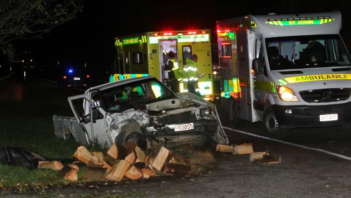 Head-on crash near Wallacetown, Southland   Stuff co nz