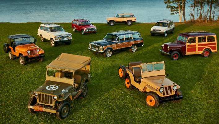 Jeep Models By Year >> The Most Significant Jeep Models Of The Past 75 Years