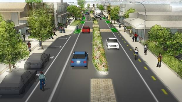 The Christchurch City Council wants to know what the public think of its plans to make Woolston Village more pedestrian ...