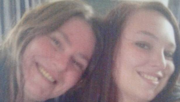 Renee Duckmanton, right, pictured with her mother, Tracy. Duckmanton's body was found in rural Canterbury on Sunday.