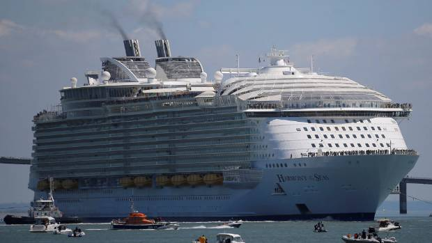 Biggest Cruise Ship Is About To Be Outdone Royal Caribbean - Image of cruise ship