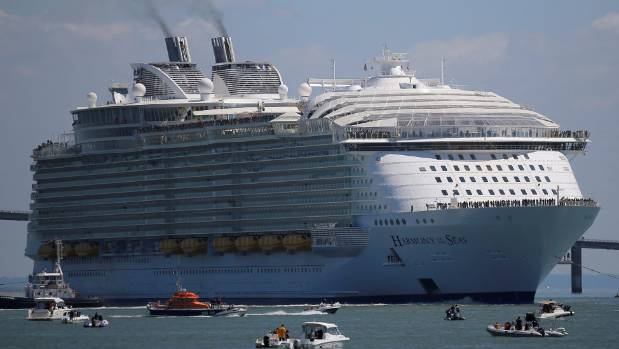 Symphony of the Seas  will be bigger than Harmony, which measures 226,963 tons and can carry up to 6780 passengers.