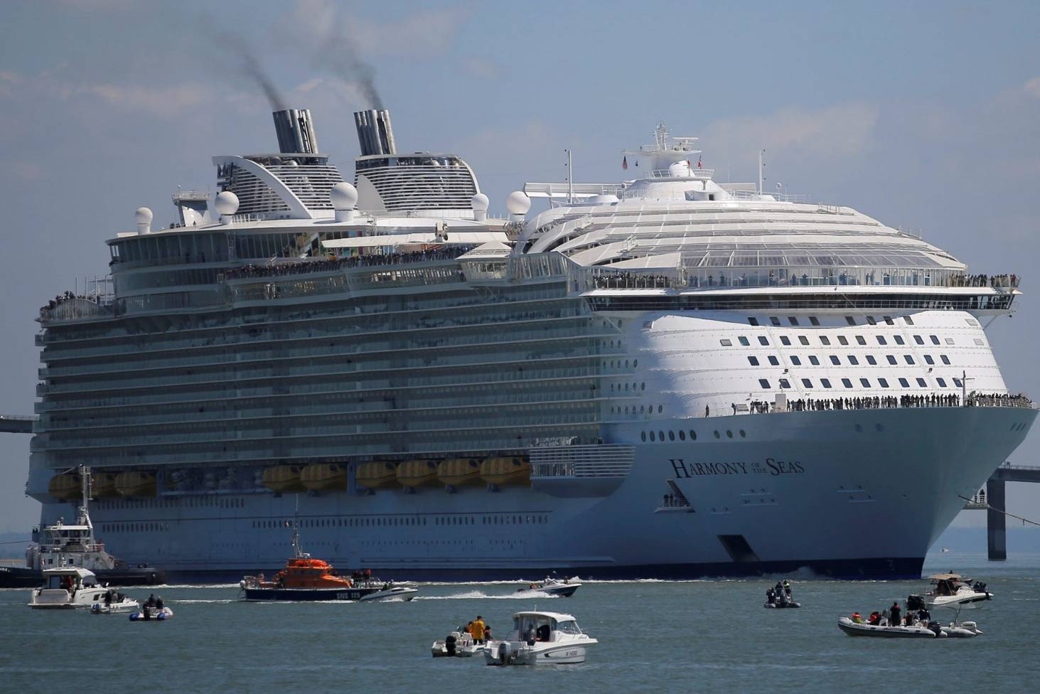 Harmony Of The Seas Inside The Largest Cruise Ship Ever Built