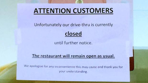 Lack of staff at KFC Blenheim and other NZ outlets mean long