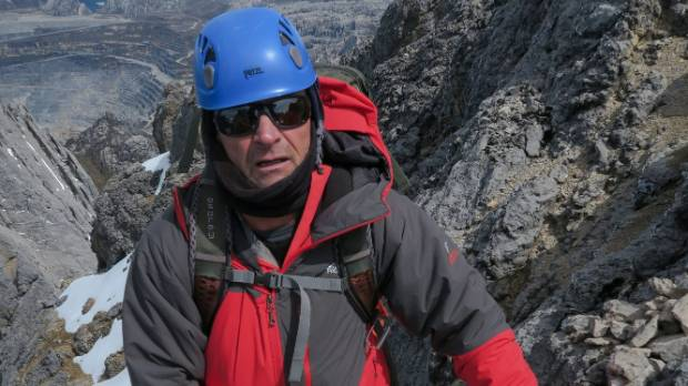 Queenstown climber Brian Dagg at Carstenz in 2015. Dagg successfully climbed Mt Everest on May 19, 2016.