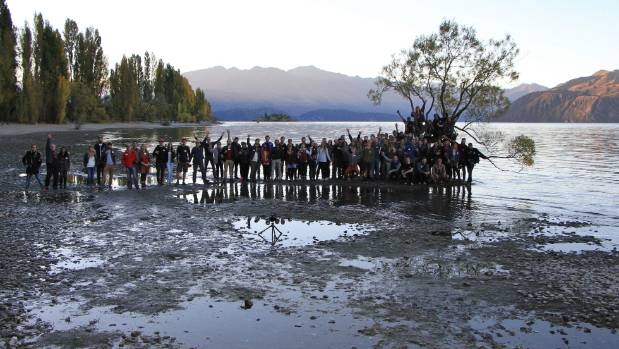 About 100 Instagrammers descended on Wanaka in 2015 for a week-long workshop.
