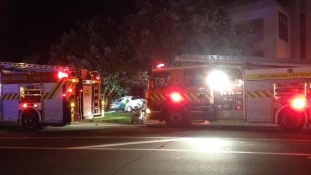 The crash closed Kenepuru Drive between Raiha Street and Titahi Bay Road.