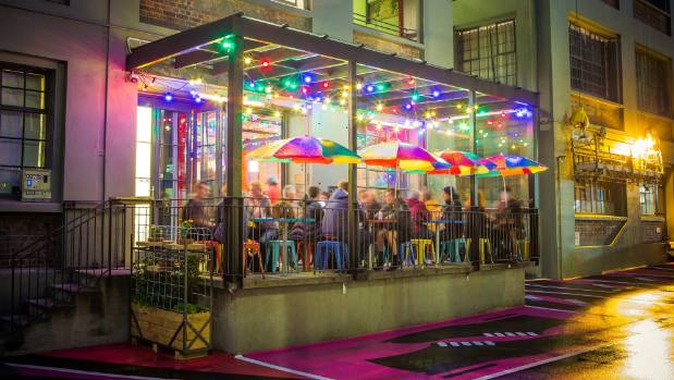 Goldings Freedive is one of a selection of bars and eateries that have drawn foot traffic into the city's back-alleys. ...