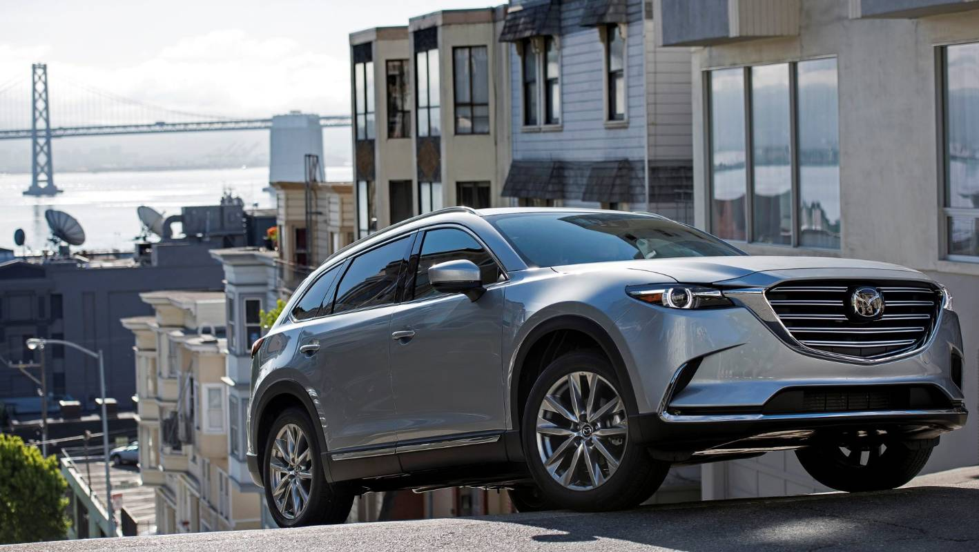 Mazda San Francisco >> New Mazda Cx 9 Shows Its Mettle Through The Streets Of San