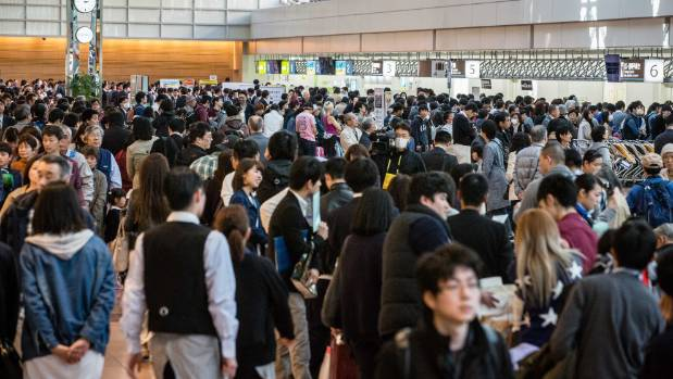 Tokyo Haneda International Airport is always busy but it's generally efficient.