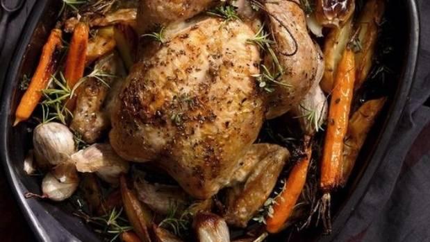how to cook roast chicken start 400f