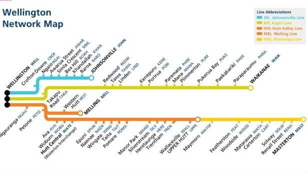 The Wellington rail network will be operated by Transdev from 3am on July 3.