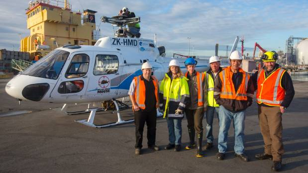 The Million Dollar Mouse project to rid Antipodes Island of mice is underway. Two helicopters were loaded aboard the ...