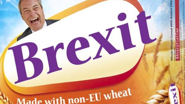 A Brexit ad during the campaign.