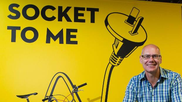 Flick Electric chief executive Steve O'Connor is fighting for the company to get noticed.