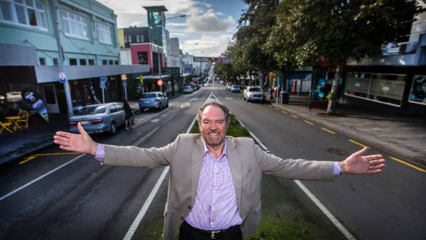 Taranaki Chamber of Commerce CEO Richard Williams said a three step plan to brighten up the New Plymouth CBD was a ...