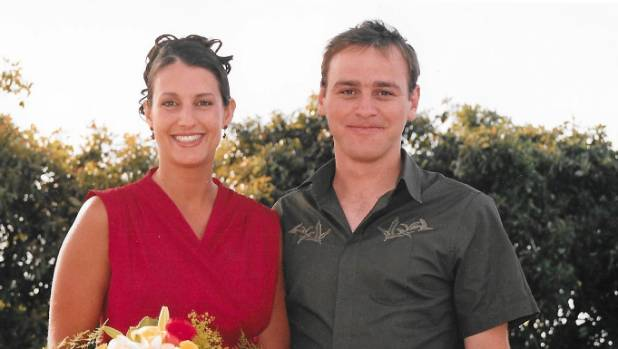 Matt Vickers, with Lecretia Seales, in 2004.