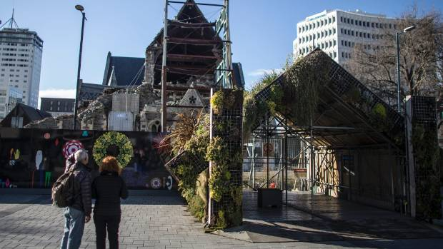 The fate of the Christ Church Cathedral is yet to be decided.