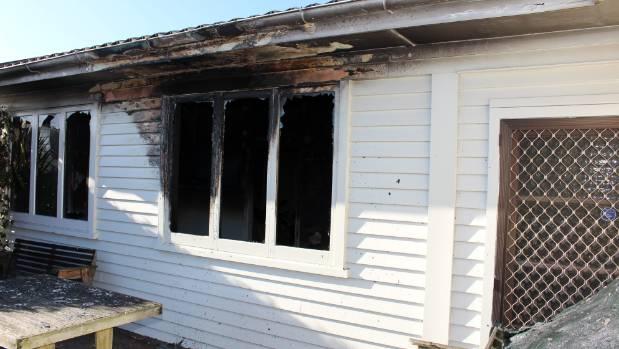 dehumidifier fire leaves smoke damage