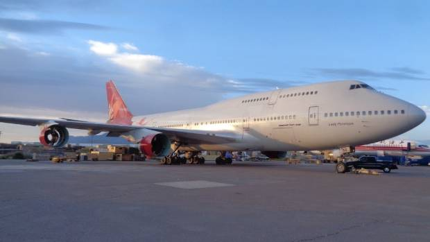 The Queen of the Skies is destined to live out her final years in an airplane graveyard.