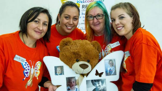 Four Christchurch mothers - Roxana Halstead, Nicole Parry, Anne O'Connor and Simone Weaver - have set up REACH, a ...