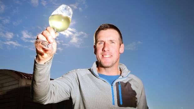 Caythorpe Family Estate grower Simon Bishell raises a glass to increased grape prices.