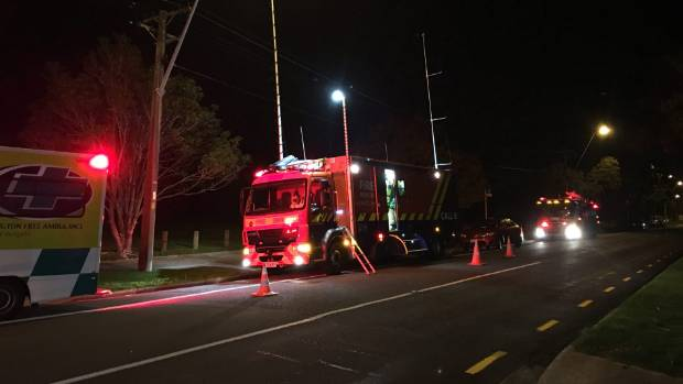 A structure fire was reported in Epuni, Lower Hutt, on Monday night.