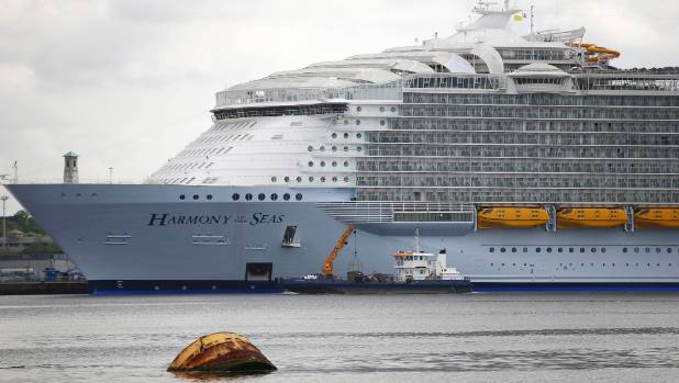 Harmony Of The Seas Passengers Furious At Building Site Cruise - Harmony cruise