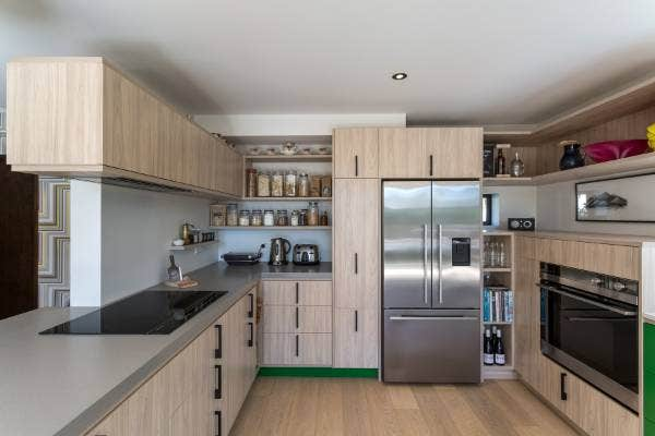 Colourful Design Response For Leading Designer S Own Kitchen Renovation Stuff Co Nz