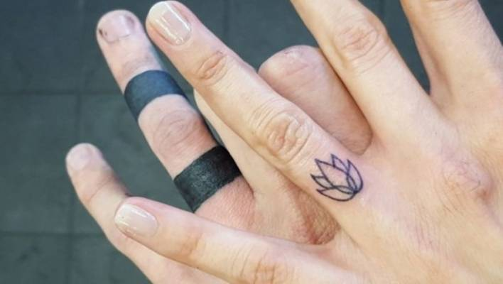 Wedding Ring Tattoo.Symbolic Permanence The Rise Of Tattoo Wedding Rings Stuff Co Nz
