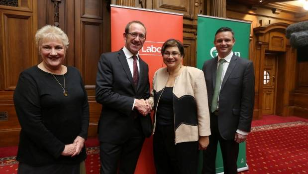 Labour and the Greens announced a historic agreement in an effort to roll the Government at this year's election, but ...