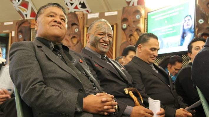 8f77941042928 Manurewa marae kaumatua, from left, Toi Katipa, Rangi McLean and Martin  Cooper at