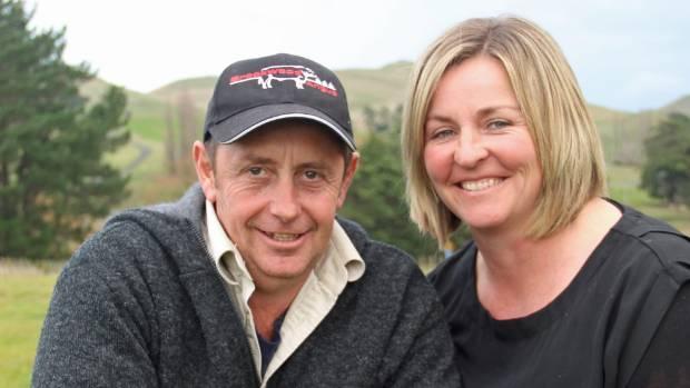 Justin and Meg King at home on Brookwood Station at Takapau.