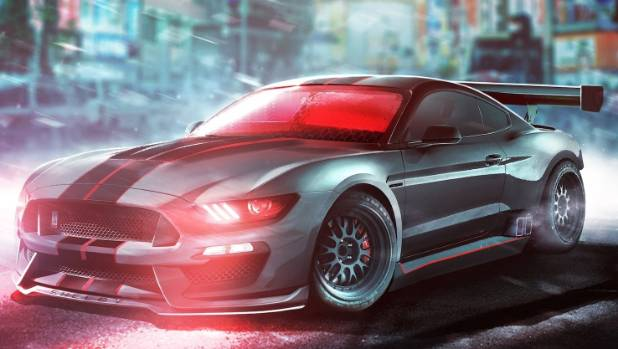 Cyclops has no time for a standard Mustang. But then who does?