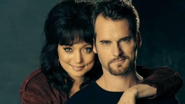 Antonia Prebble and David de Lautour as Rita and Ted West