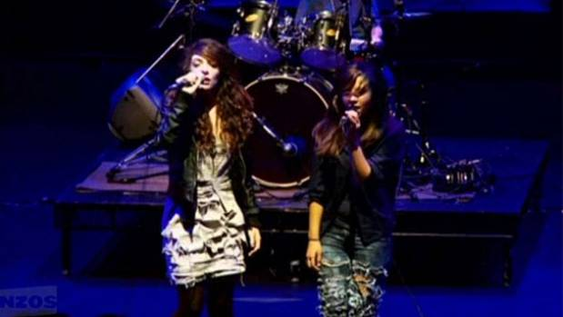 Before you could call her Queen Bee and Royals was a Grammy-winning smash hit, Lorde (left) was a singer in Extreme.