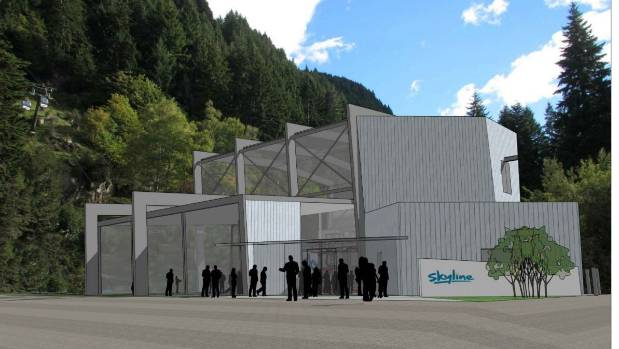 A proposed new base building for Queenstown's Skyline gondola is part of a $60 million redevelopment project.