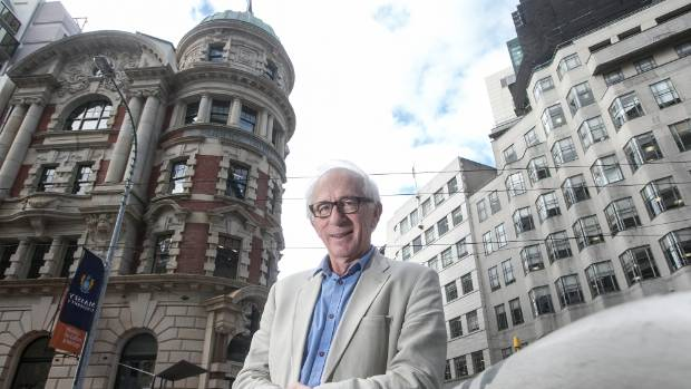 """Well-known Wellington developer and engineer Maurice Clark said the Old Public Trust building on Lambton Quay is """"solid ..."""