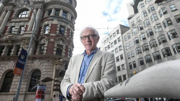 Wellington developer and engineer Maurice Clark is well-known for his restoration of the Old Public Trust building.
