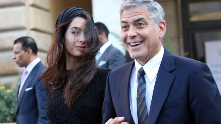 George Clooney charms Pope, Vatican audience, with 'bad