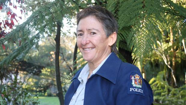 Rarangi woman Fleur Hansby was the first policewoman in Marlborough, when she joined the force in 1985.
