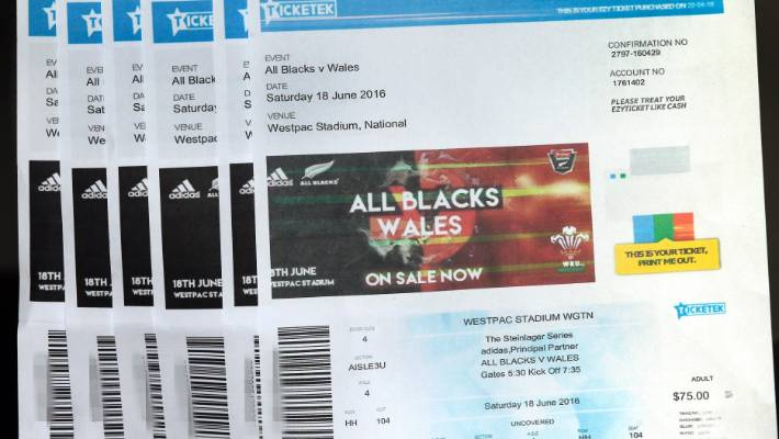 Ouch! All Blacks ticket buyer gets a surprise scalping